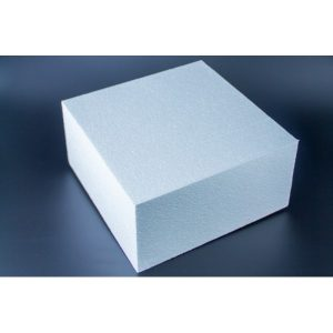Square 9 Inch x 9 Inch x 5 Inch High Foam