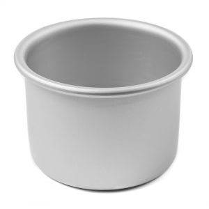 4 Inch x 3 Inch High Round Cake Pan - Hot Stuff Bakeware