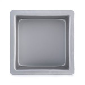 6 Inch x 6 Inch x 3 Inch High Square Cake Pan - Hot Stuff Bakeware