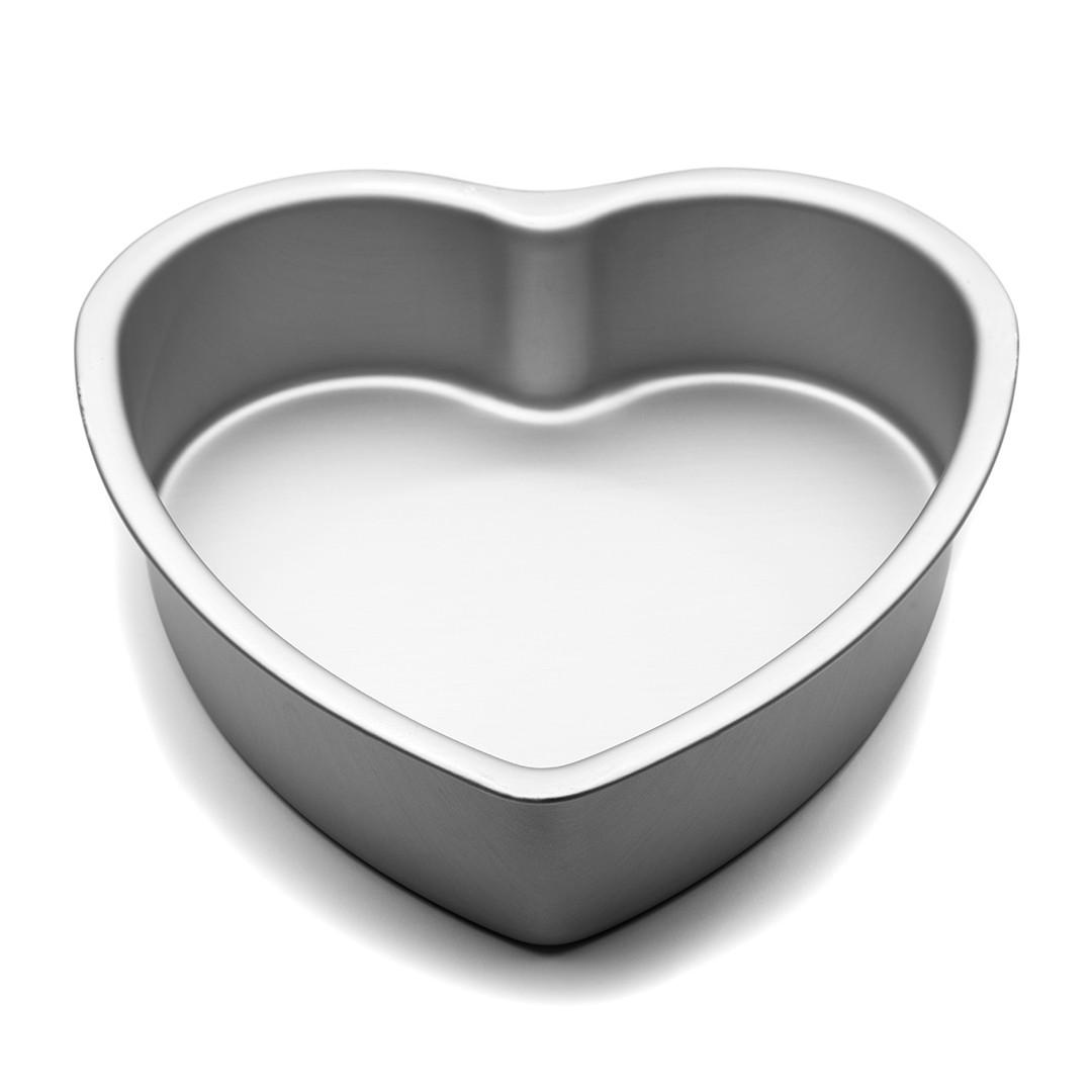 10 Inch X 3 Inch High Heart Shaped Cake Pan Hot Stuff