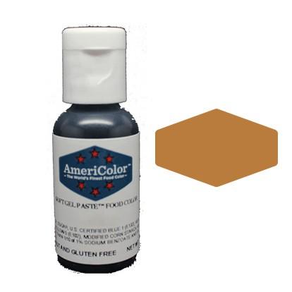 Americolor Warm Brown Soft Gel Paste 21 3g