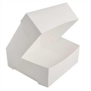 13.5 Inch x 13.5 Inch x 6 Inch High Cake Box