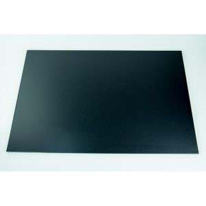 9 Inch x 12 Inch Oblong Black Masonite Cake Board