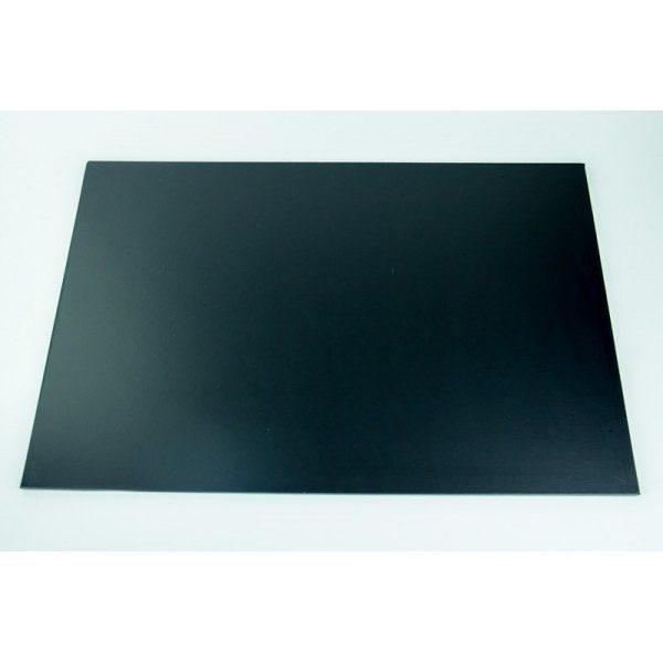9 Inch x 12 Inch Oblong Black Masonite Cake Board