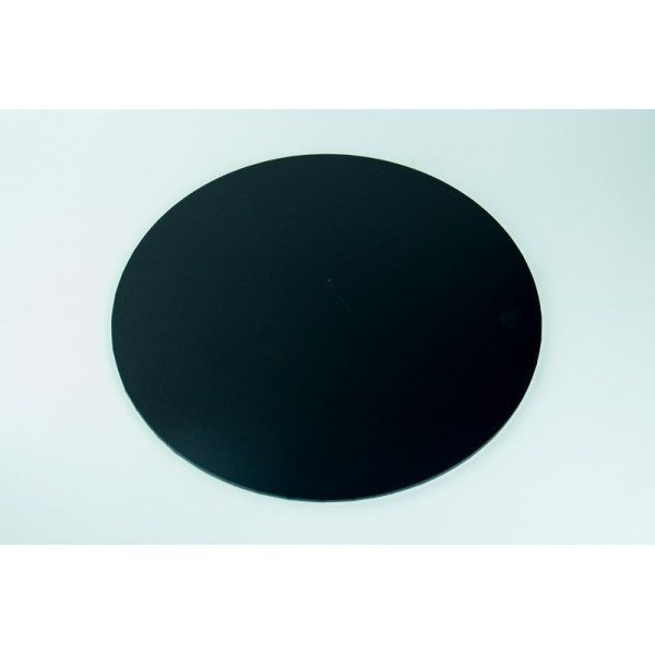 20 Inch Round Balck Masonite Cake Board