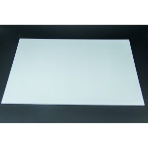 12 Inch x 18 Inch Oblong White Masonite Cake Board