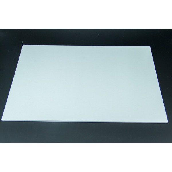 12 Inch x 18 Inch Oblong White Masonite Cake Board