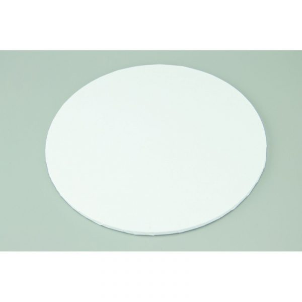11 Inch Round White Masonite Cake Board