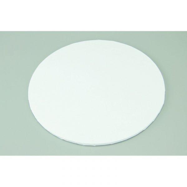 11 Inch Round White Masonite Cake Board